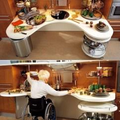 Wheelchair Hot Wheels Flip Out Chairs Adults Skyline Lab Wheelchair-friendly Kitchen Design - Core77