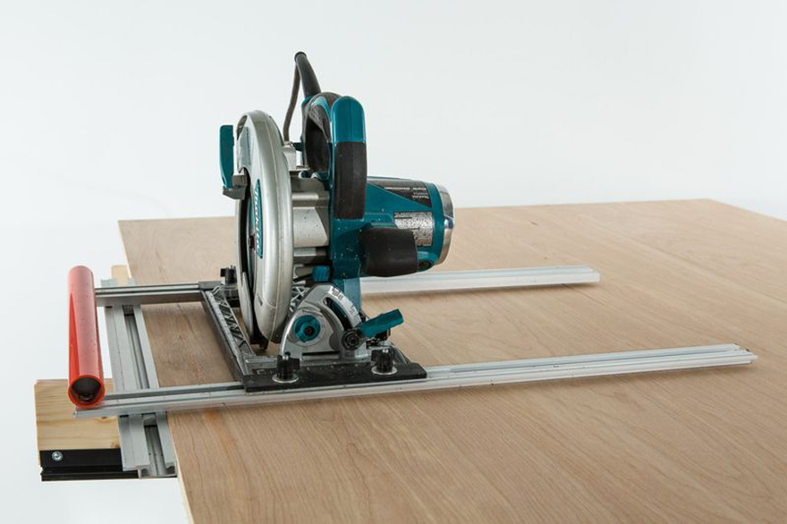 Diy Track Saw Parallel Guide