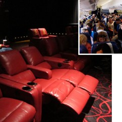 2 Seat Theater Chairs Wooden Cushion Chair Movie Seats Moving In The Opposite Design Direction From Airplane