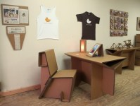 Cardboard Furniture for the Dorm Room and Beyond