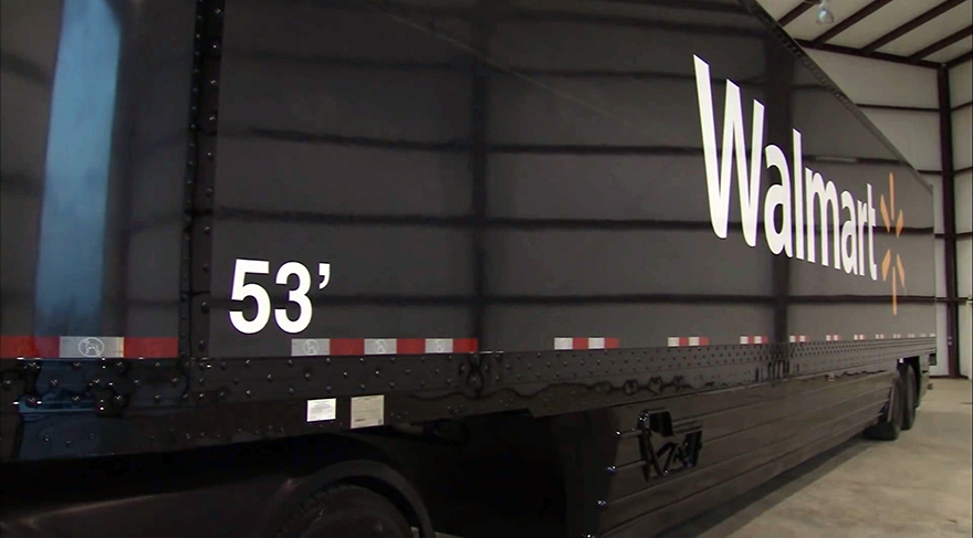 Why Would Walmart Make Continuous 53FootLong Carbon Fiber Panels For Their Supertruck