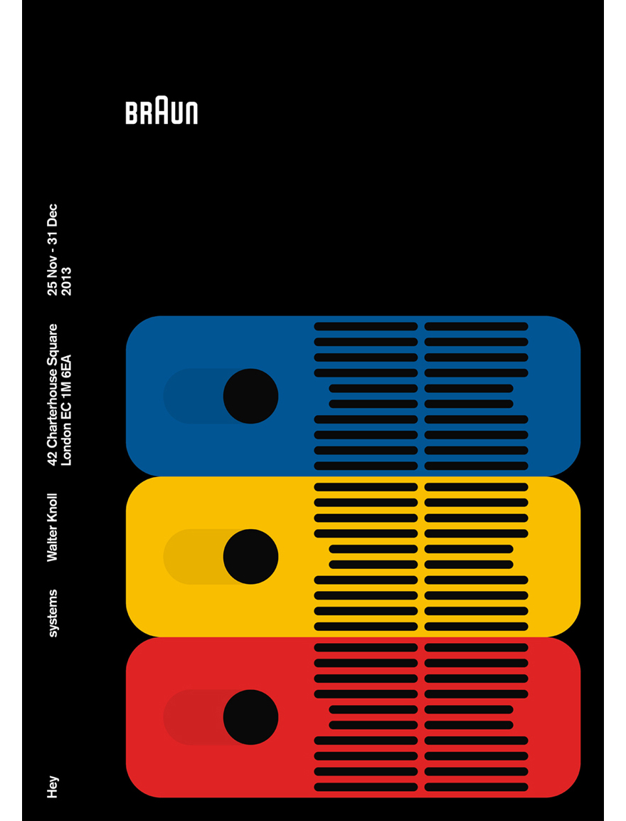 Awesome Posters Of Graphic Designers Homages To Braun