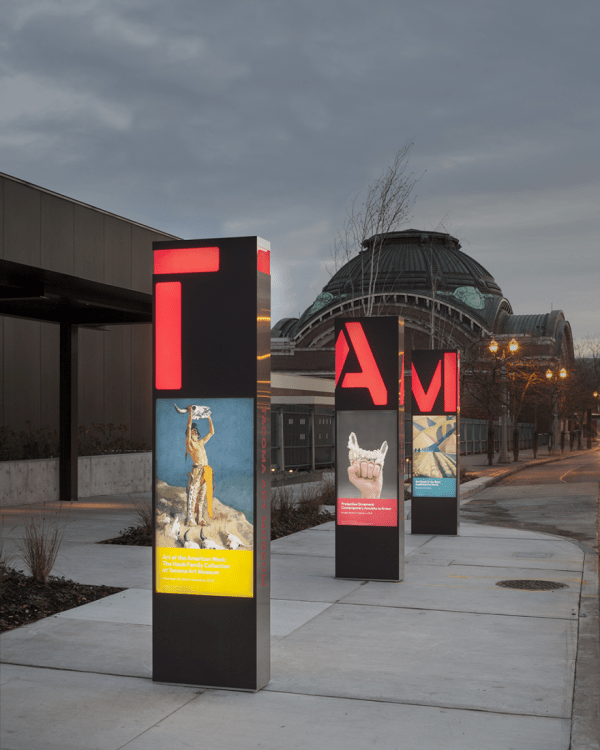 Tacoma Art Museum Signage And Wayfinding - Studio Matthews Core77 Design Awards