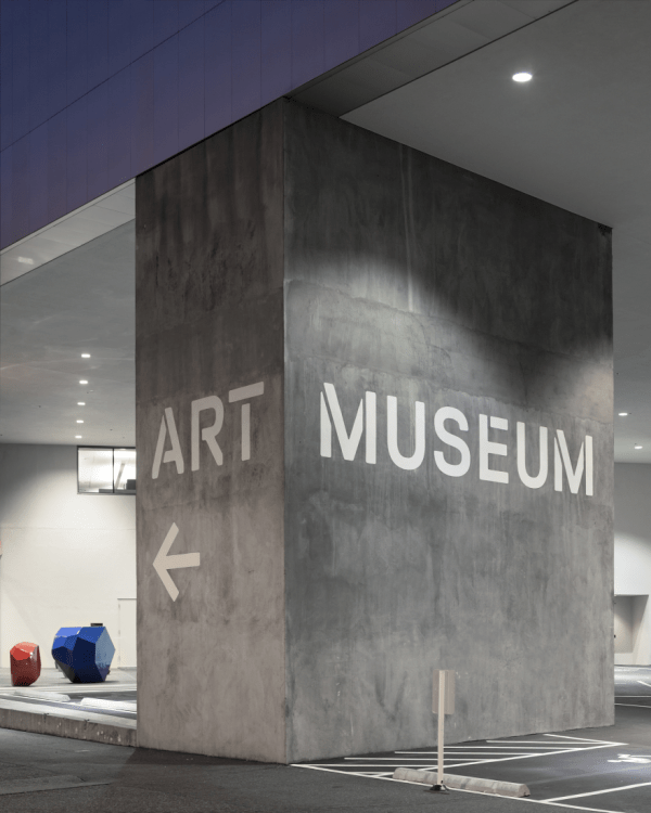 Tacoma Art Museum Signage And Wayfinding - Studio