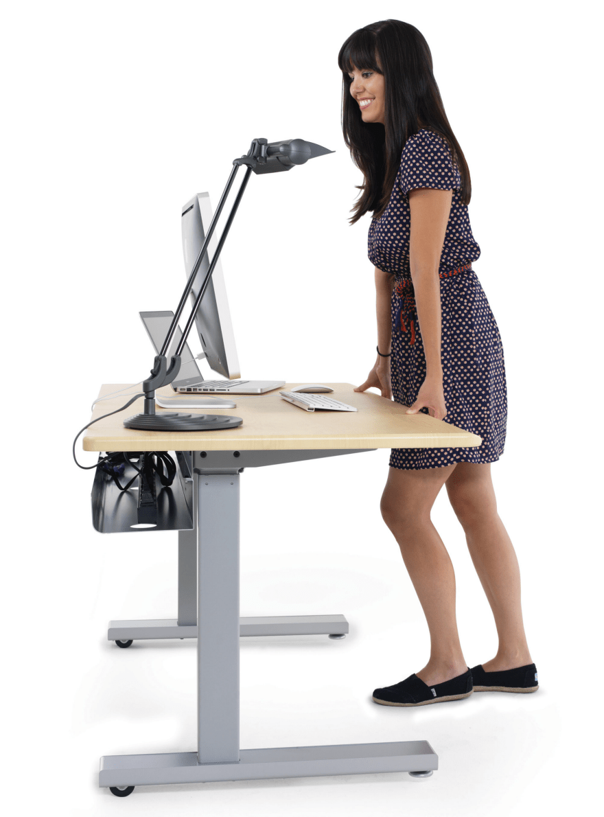 Staying Organized at a SitStand Desk  Core77