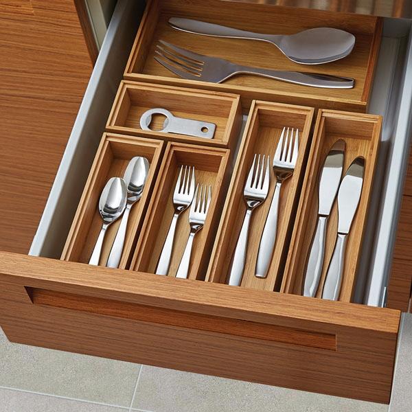 two tier kitchen drawer organizer staining cabinets darker 14 ways to organize the silverware - core77