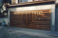 Unusual Door Designs from Brazil, Part 2: Garage Doors ...