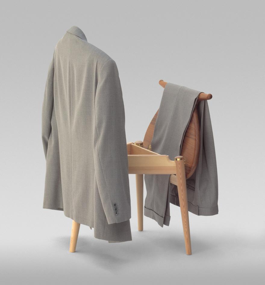 Classic, Practical Furniture Design: Hans Wegner's Valet