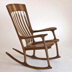 Sam Maloof Rocking Chair Plans Hal Taylor Gaming Rocker Perfecting Furniture An Obsessive Ex Engineer S Exquisite Core77