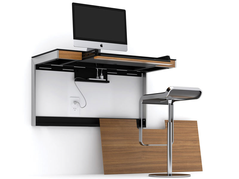 Get to Work at These 9 WallMounted Desks  Core77