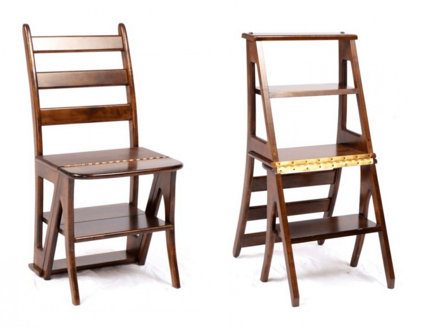 library chair ladder high seat for different design approaches to the transforming core77 image by lake city woodworkers