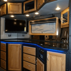Kitchen Nook Curtains New Cabinet Doors What Do Luxury Sleeper Cabs For Long-haul Truck Drivers ...