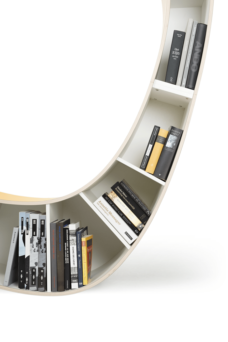 Ergonomic Reading Chair Bookworm A Bookshelf And Chair In One Core77