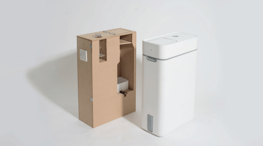 kitchen composter decor cheap taihi a with japanese twist core77 this final year design project from loughborough university uses process called bokashi to compost waste much quicker and more effectively than