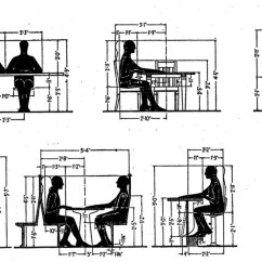 Ergonomic Chair Design Guidelines Fishing Clearance Reference Common Dimensions Angles And Heights For Seating Designers Core77