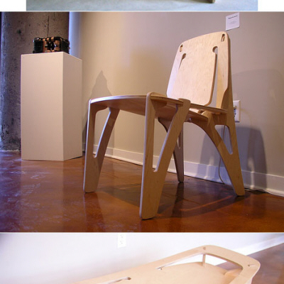 Andy Kems CNCd Plywood Furniture Core77