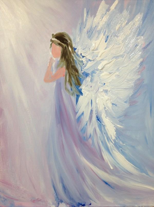 Learn Paint Beautiful Angel