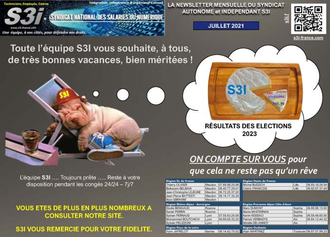 communication syndicale mensuelle s3i juillet 2021 page 3