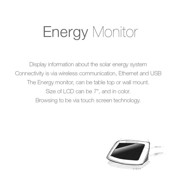 Energy Monitor by Neilson Navarrete at Coroflot.com