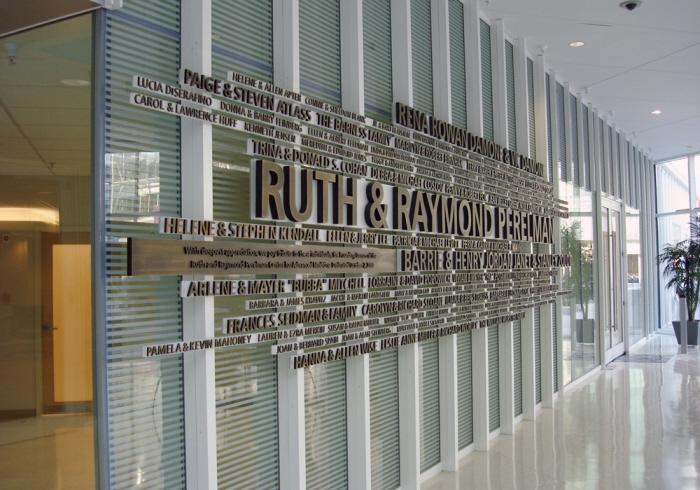 Perelman Donor Wall by Mark Jenkinson at Coroflotcom