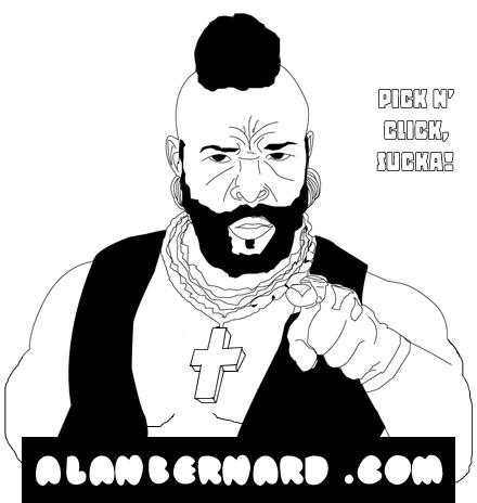 illustrations by alan bernard at Coroflot.com
