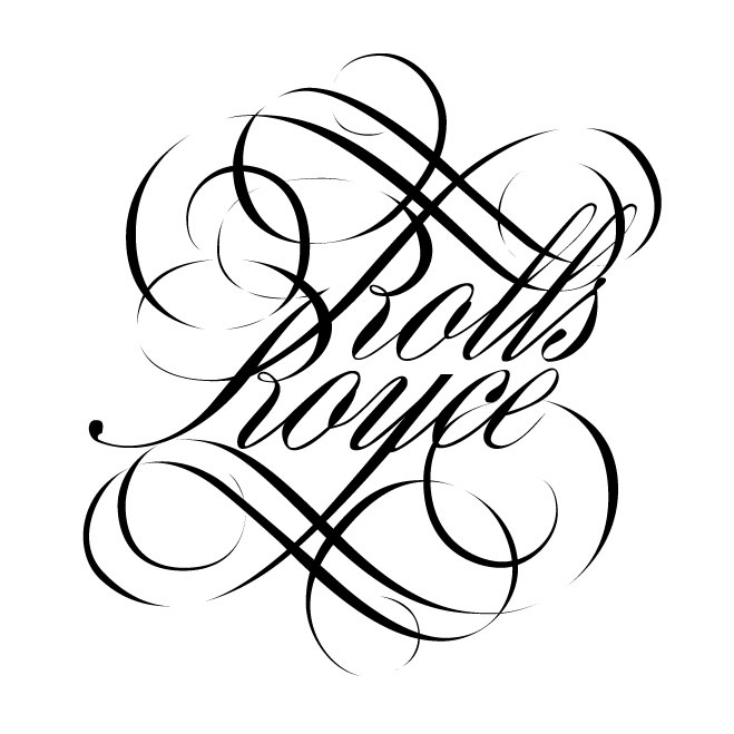 Rolls Royce logo by philippe vermond at Coroflot.com