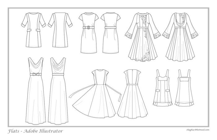 Fashion Flats by Art Ration at Coroflot.com