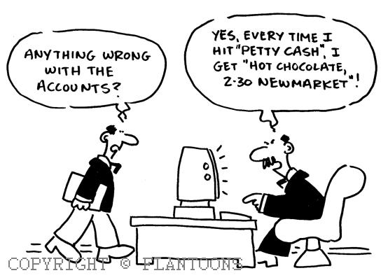 Accounting Flantoons by Mike Flanagan at Coroflot.com