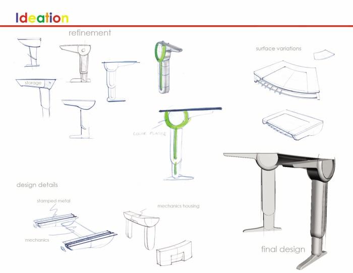 school furniture by David Mincel at Coroflot.com