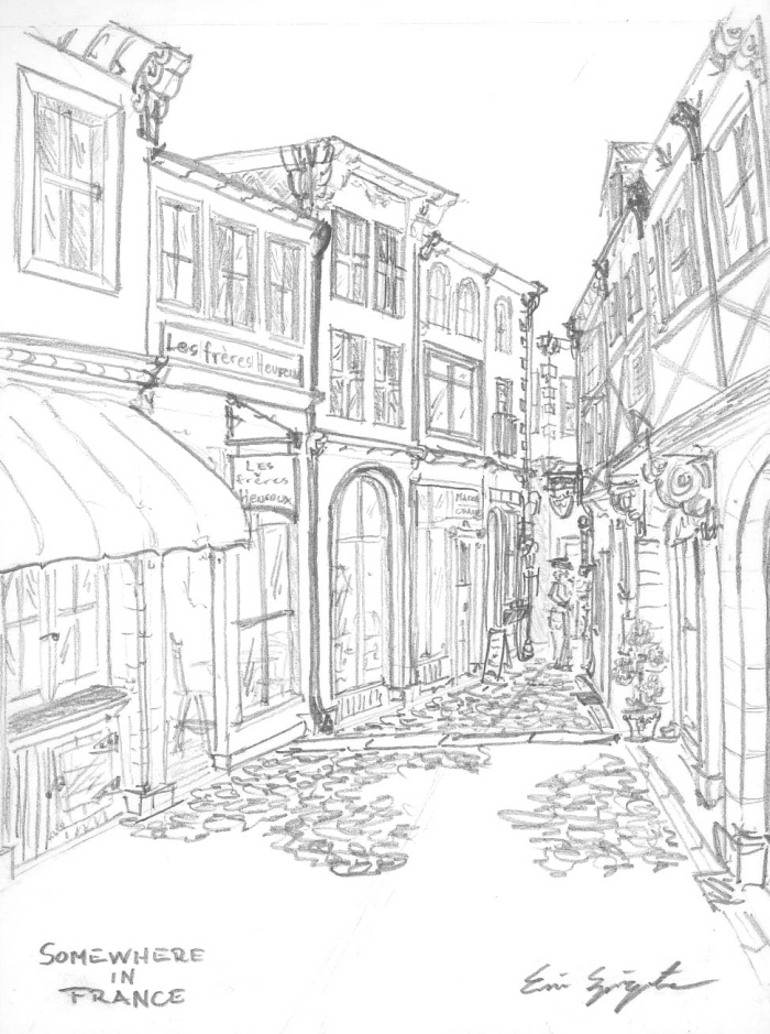 Sketches by Eric Springate at Coroflot.com