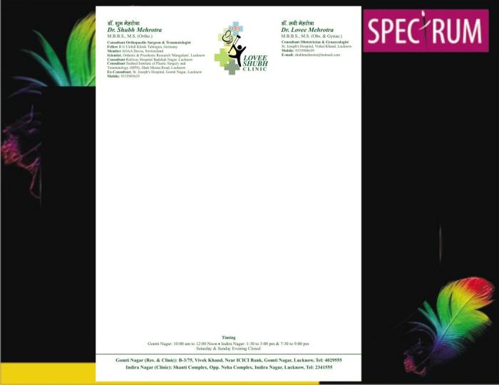 Medical Stationery by CreativeDAP Services at Coroflotcom