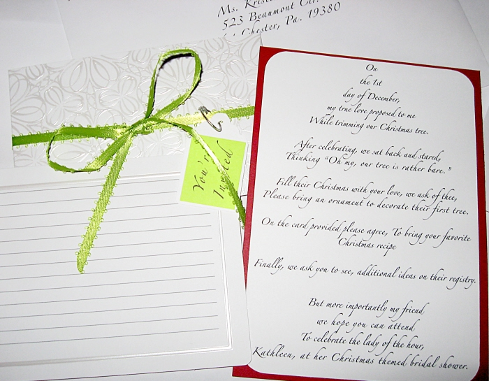 Wedding Shower Poem For Card MyPoemsCo