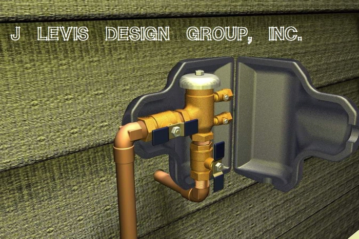 Insulated Sprinkler Valve Cover by Jeff D Levis at