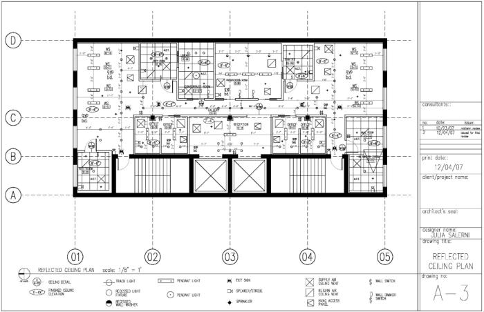 autocad construction documents by julia salerni at