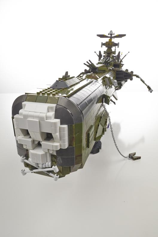 Harlock Space Ship Arcadia le vaisseau dAlbator by Martin