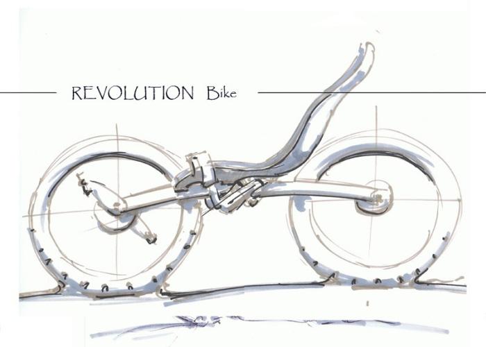 Evolution Bike by Roel Verhagen Kaptein at Coroflot.com