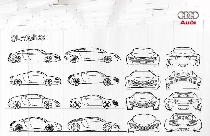 Audi R9 Concept by Tabriz Ahmadli at Coroflot.com