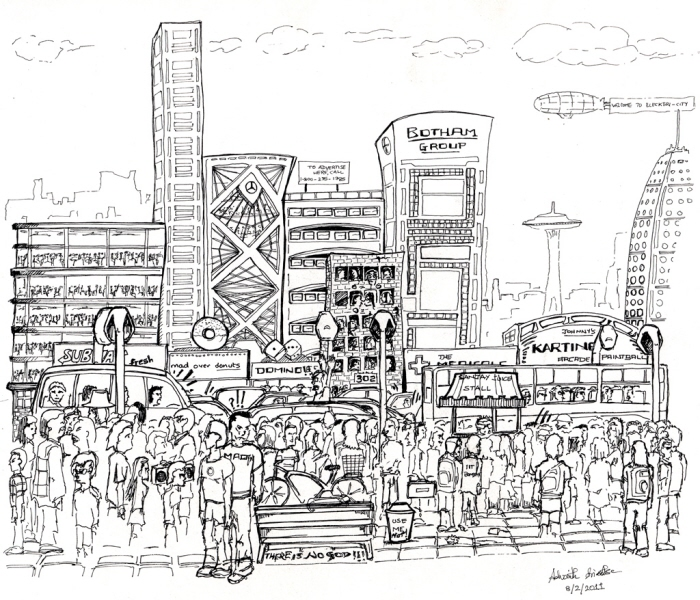 Sketches by Advaith Srivathsa at Coroflot.com