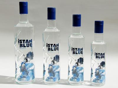 Istanblue Vodka Bottle by Ali Sinan Ozturk at Coroflotcom