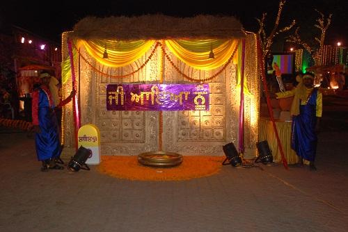 Punjabi theme decor by Ajit singh Bhalla at Coroflotcom
