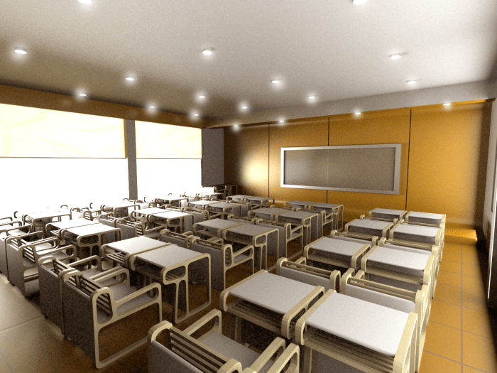 MODERN CLASSROOM by THE DOOR INTERIORS SDN BHD by Kate