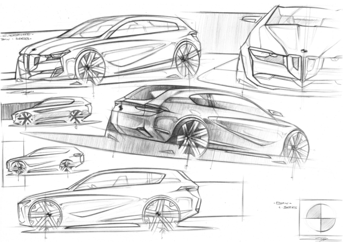 BMW 1 Series by Cyril Verbrugge at Coroflot.com