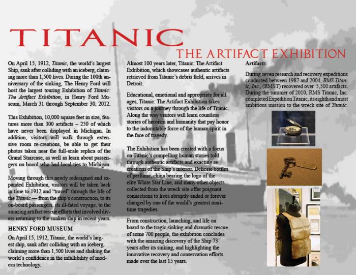 Titanic Brochure By Carlos Varo At Coroflot Com