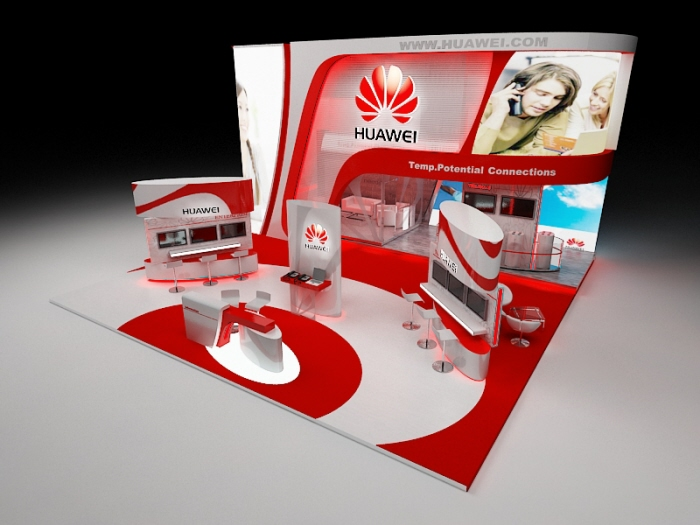 Huawei Booth Proposal Design By Mohamed Nashaat At