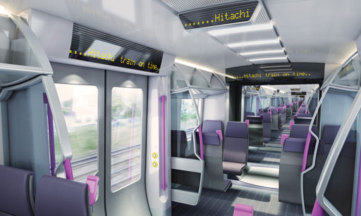 Hitachi Cross Platform Interior Concept by Schoenemann
