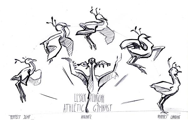 Freetime sketches by Alexandra Ciobanu at Coroflot.com