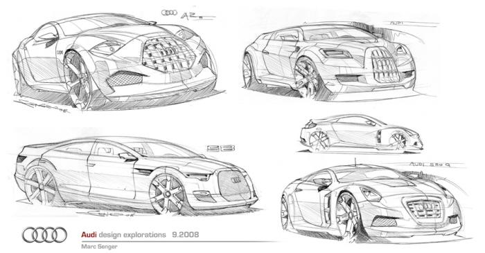 Sketchbook by Marc Senger at Coroflot.com