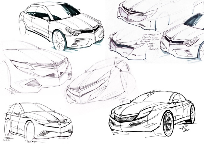 Car Design Focus by riderx design at Coroflot.com