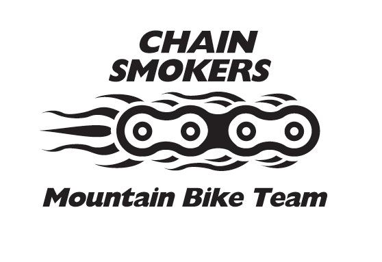 Chain Smokers Mountain bike team cycling jersey and logo