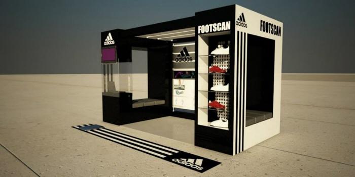 Stand ADIDAS Footscan by Felipe Goknock at Coroflotcom
